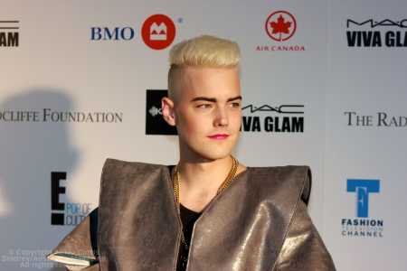 Diamond Rings at Fashion Cares 25 in Toronto. Photo copyright: Curtis Sindrey (2012) - All Rights Reserved