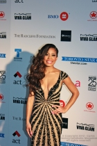 Keshia Chanté at Fashion Cares 25 in Toronto. Photo copyright: Curtis Sindrey (2012) - All Rights Reserved