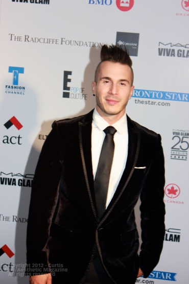 Shawn Desman at Fashion Cares 25 in Toronto. Photo copyright: Curtis Sindrey (2012) - All Rights Reserved