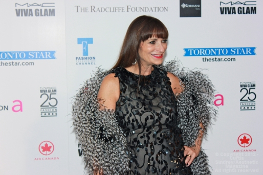 Fashion TV personality Jeanne Beker at Fashion Cares 25 in Toronto. Photo copyright: Curtis Sindrey (2012) - All Rights Reserved