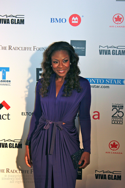 Jully Black at Fashion Cares 25 in Toronto. Photo copyright: Curtis Sindrey (2012) - All Rights Reserved
