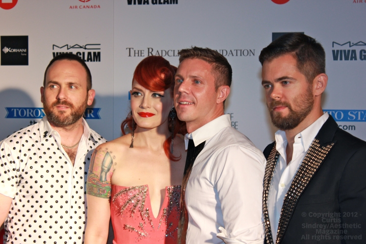 Scissor Sisters at Fashion Cares 25 in Toronto. Photo copyright: Curtis Sindrey (2012) - All Rights Reserved
