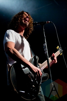 Chris Cornell of Soundgarden at Phoenix Concert Theatre in Toronto. (Photo: Adam Harrison/Aesthetic Magazine Toronto)