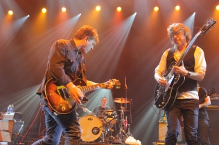 Greig Nori (left) and Bill Priddle (right) of Treble Charger at Metro Toronto Convention Centre. November 23, 2012. (Photo: Curtis Sindrey)