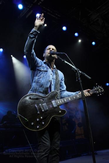 Sam Roberts at the Metro Toronto Convention Centre. November 23rd, 2012. (Photo: Curtis Sindrey)