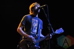 Chris Wollard of Hot Water Music in Toronto. (Photo: Stephen McGill/Aesthetic Magazine Toronto)