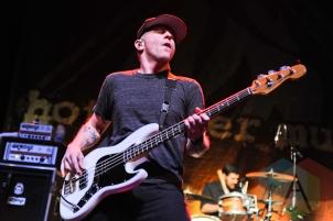 Jason Black of Hot Water Music in Toronto. (Photo: Stephen McGill/Aesthetic Magazine Toronto)