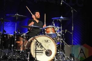 George Rebelo of Hot Water Music in Toronto. (Photo: Stephen McGill/Aesthetic Magazine Toronto)