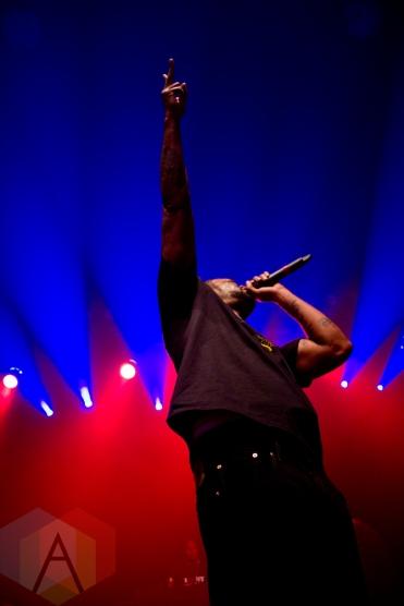 Method Man in Toronto. January 10th, 2013. (Photo: Adam Harrison/Aesthetic Magazine Toronto)