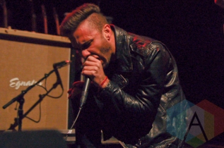 Jason Butler of Letlive. (Photo: Stephen McGill/Aesthetic Magazine Toronto)