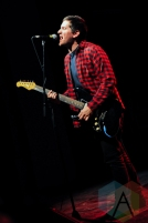 Joe Godino of The Menzingers in Toronto. (Photo: Stephen McGill/Aesthetic Magazine Toronto)
