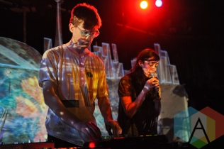 Agor (left) and Raphaelle (right) of Blue Hawaii in Toronto. (Photo: Stephen McGill/Aesthetic Magazine Toronto)Blue Hawaii in Toronto. (Photo: Stephen McGill/Aesthetic Magazine Toronto)