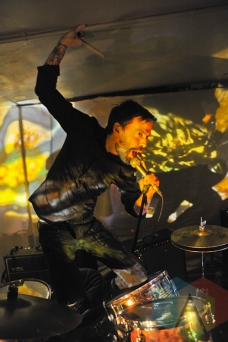 Justin Small of Lullabye Arkestra in Toronto. (Photo: Stephen McGill/Aesthetic Magazine Toronto)