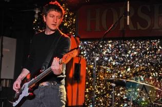Jon Wurster performing with Bob Mould in Toronto. (Photo: Stephen McGill/Aesthetic Magazine Toronto)