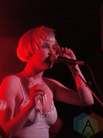 Leah Fay of July Talk. (Photo: Calum Slingerland/Aesthetic Magazine Toronto)