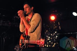 Zachary Gray of The Zolas. (Photo: Stephen McGill/Aesthetic Magazine Toronto)