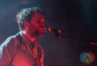 Scott Hutchison of Frightened Rabbit in Toronto. (Photo: Dianna Lee/Aesthetic Magazine Toronto)
