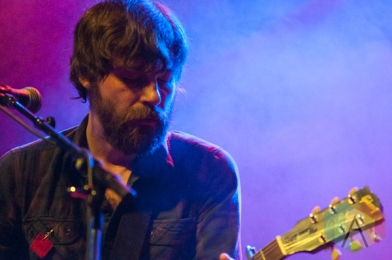 Tim D'eon of Wintersleep in Toronto. (Photo: Dianna Lee/Aesthetic Magazine Toronto)