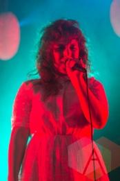 Megan James of Purity Ring. (Photo: Nim Mendoza/Aesthetic Magazine Toronto)