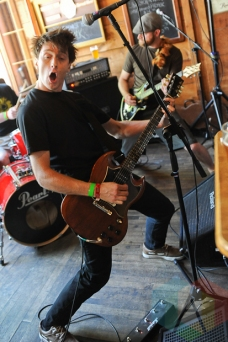 Brandon James of Brandon James Band. (Photo: Stephen McGill/Aesthetic Magazine Toronto)