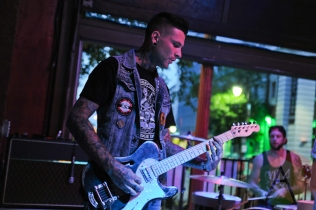 Kyle Topping of Brighter Brightest. (Photo: Stephen McGill/Aesthetic Magazine Toronto)