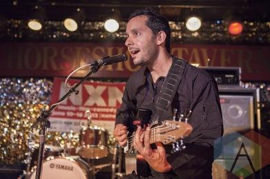 Aron Sanchez of Buke and Gase. (Photo: Neil Van/Aesthetic Magazine Toronto)