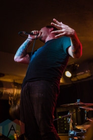 Geoffrey Ficco of The Faceless. (Photo: Scott Penner/Aesthetic Magazine Toronto)