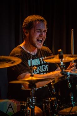Alex Rüdinger of The Faceless. (Photo: Scott Penner/Aesthetic Magazine Toronto)