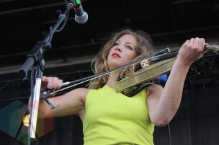 Rebecca Zeller of Ra Ra Riot. (Photo: Curtis Sindrey/Aesthetic Magazine Toronto)