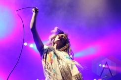 Feist performing with Broken Social Scene. (Photo: Curtis Sindrey/Aesthetic Magazine Toronto)