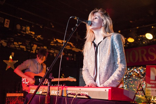 Tessa Murray of Still Corners. (Photo: Neil Van/Aesthetic Magazine Toronto)