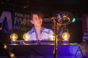 Jessie Stein of The Luyas. (Photo: Neil Van/Aesthetic Magazine Toronto)