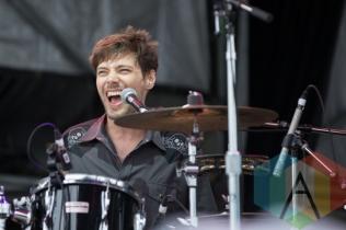 A member of Lindi Ortega's band. (Photo: Bruce Emberley/Aesthetic Magazine Toronto)
