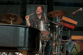 Darren Jessee of Ben Folds Five. (Photo: Neil Van/Aesthetic Magazine Toronto)