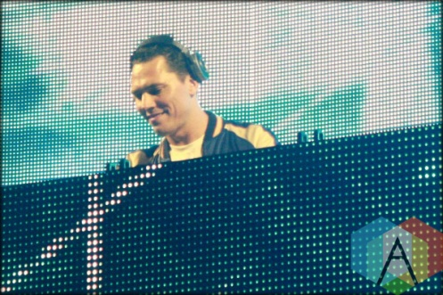 Tiesto. (Photo: Shannon Reid/Aesthetic Magazine Toronto)