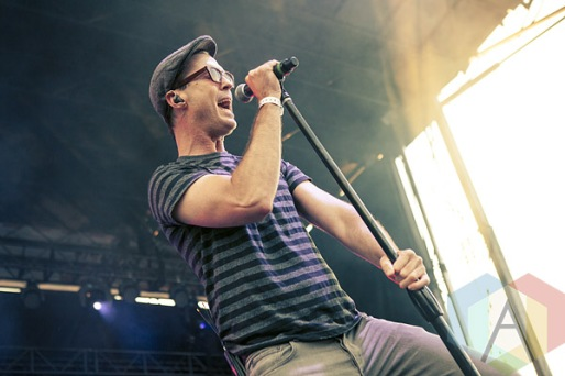 Michael Fitzpatrick of Fitz and The Tantrums. (Photo: Neil Van/Aesthetic Magazine Toronto)