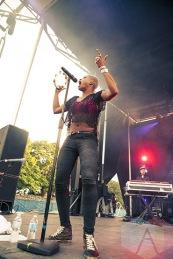 Noelle Scaggs of Fitz and The Tantrums. (Photo: Neil Van/Aesthetic Magazine Toronto)