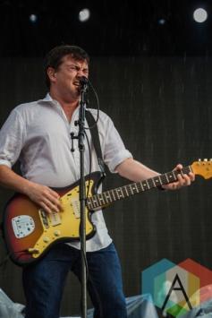 Ben Lloyd performing with Frank Turner. (Photo: Scott Penner/Aesthetic Magazine Toronto)