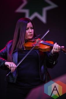 Bridget Regan of Flogging Molly. (Photo: Scott Penner/Aesthetic Magazine Toronto)