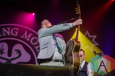 Dave King of Flogging Molly. (Photo: Scott Penner/Aesthetic Magazine Toronto)