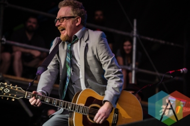 Dave King of Flogging Molly. (Photo: Scott Penner/Aesthetic Magazine Toronto)