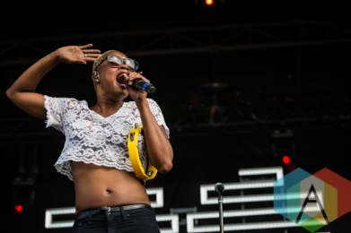 Noelle Scaggs of Fitz and The Tantrums. (Photo: Scott Penner/Aesthetic Magazine Toronto)