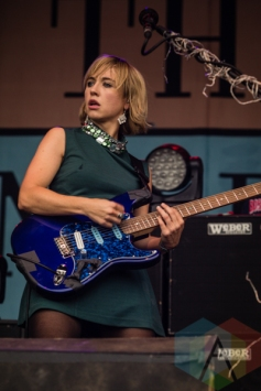 "Rhiannon ""Ritzy"" Bryan of The Joy Formidable. (Photo: Scott Penner/Aesthetic Magazine Toronto)"