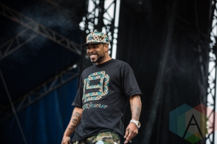 Method Man of Wu-Tang Clan. (Photo: Scott Penner/Aesthetic Magazine Toronto)