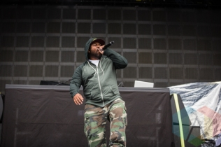 Raekwon of Wu-Tang Clan. (Photo: Scott Penner/Aesthetic Magazine Toronto)