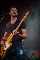 A member of Hannah Georgas' band. (Photo: Scott Penner/Aesthetic Magazine Toronto)