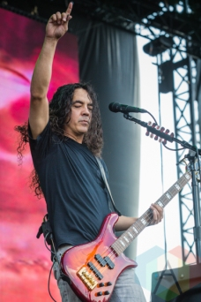 Mike Inez of Alice In Chains. (Photo: Scott Penner/Aesthetic Magazine Toronto)