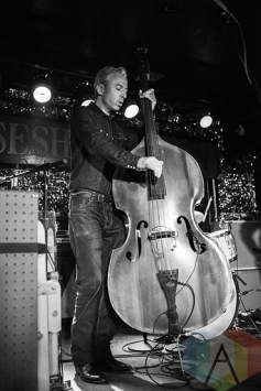 Member of JD McPherson's band. (Photo: Neil Van/Aesthetic Magazine Toronto)