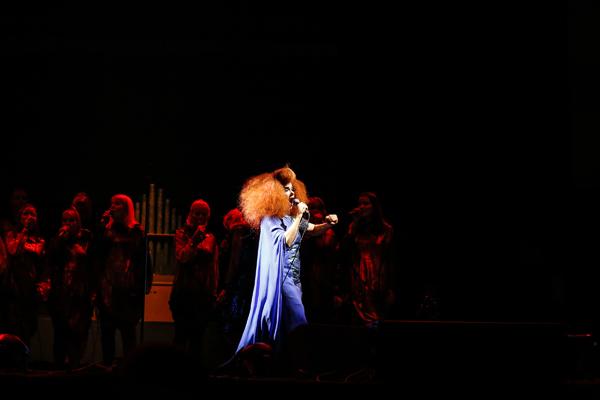 Björk. (Photo: Mark Horton/RBC Bluesfest Press Images)