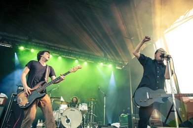 The Hold Steady. (Photo: Neil Van/Aesthetic Magazine Toronto)